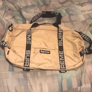 Supreme Large Duffle Bag SS18 Tan
